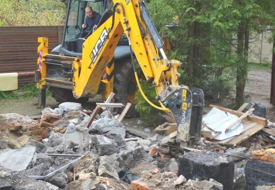 Демонтаж фундаментов в Челябинске цена от 701 руб.